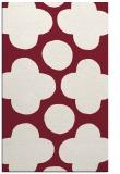 rug #497341 |  pink circles rug