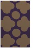 rug #497361 |  mid-brown circles rug