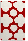 rug #497369 |  red graphic rug