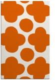 rug #497397 |  red-orange circles rug