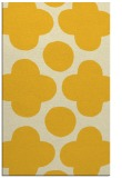 rug #497417 |  yellow circles rug