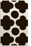 rug #497425 |  brown graphic rug