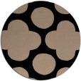 rug #497493 | round beige circles rug