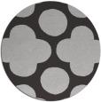 rug #497681 | round orange circles rug
