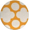 rug #497829   round white circles rug