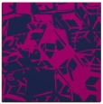 rug #499973 | square blue abstract rug