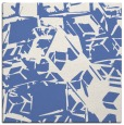 rug #499985 | square blue abstract rug