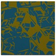 rug #500005 | square green abstract rug