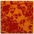 rug #500189 | square red abstract rug