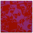 rug #500197 | square red abstract rug