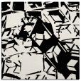 rug #500217 | square black rug