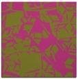 rug #500273   square light-green rug