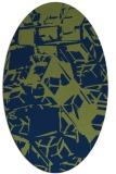 rug #500333   oval abstract rug