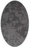 rug #500446   oval abstract rug