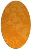 rug #500641   oval light-orange abstract rug