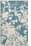 rug #500673    white abstract rug