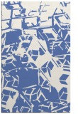 rug #500689 |  blue abstract rug