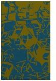 rug #500709 |  green abstract rug
