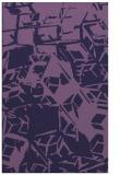 rug #500745    purple abstract rug