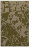 rug #500769    mid-brown abstract rug