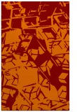 rug #500837 |  red-orange abstract rug