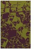 rug #500877 |  purple abstract rug