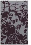 rug #500885 |  purple abstract rug
