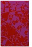 rug #500901    pink abstract rug