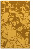 rug #500953 |  light-orange abstract rug