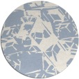 rug #501043   round abstract rug