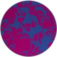 rug #501104   round abstract rug