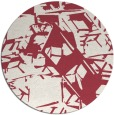 rug #501216 | round abstract rug
