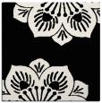 rug #501709 | square black graphic rug