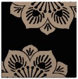 rug #501717 | square black graphic rug