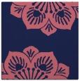 rug #501797 | square blue-violet rug