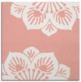 rug #501925 | square pink rug