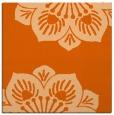 rug #501965 | square red-orange rug