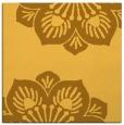 rug #502009 | square light-orange natural rug