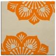 rug #502021 | square orange natural rug