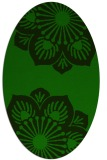 rug #502125 | oval graphic rug