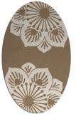 rug #502209 | oval beige natural rug