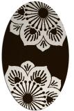 rug #502354 | oval graphic rug
