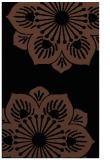 rug #502425 |  brown graphic rug