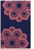 rug #502501 |  blue-violet rug