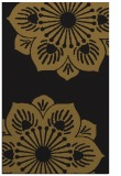 rug #502525 |  mid-brown graphic rug