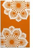 rug #502601 |  orange popular rug