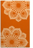 rug #502669 |  red-orange graphic rug