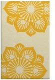 rug #502697    yellow graphic rug