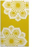 rug #502709 |  yellow graphic rug
