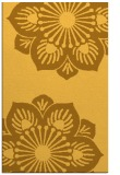 rug #502713 |  yellow natural rug